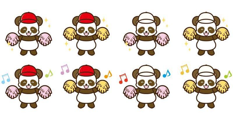 パンダのダンス