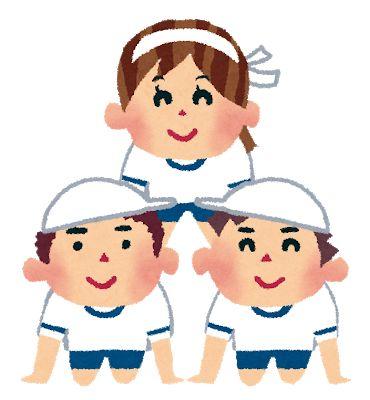 組体操 3人