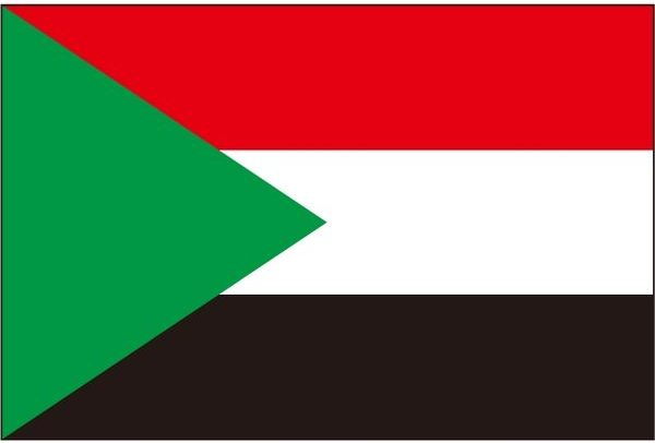 国旗:スーダン