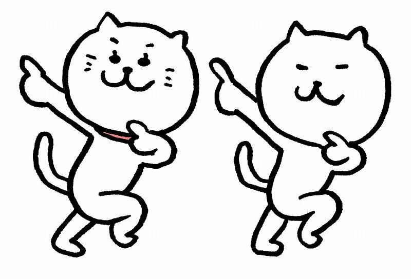 ランニングマン猫