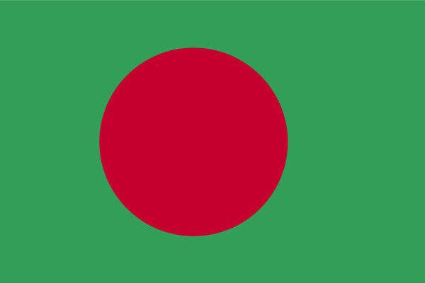 国旗:バングラデシュ