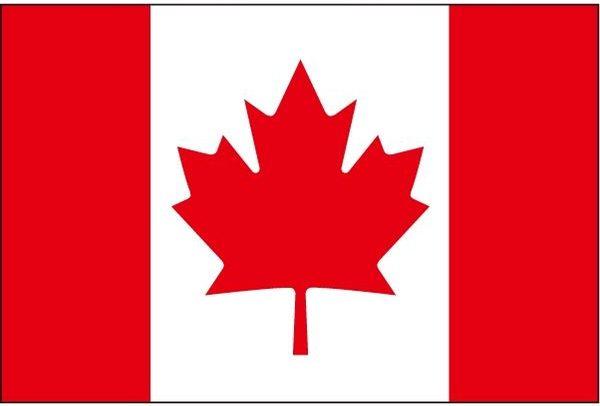 国旗:カナダ