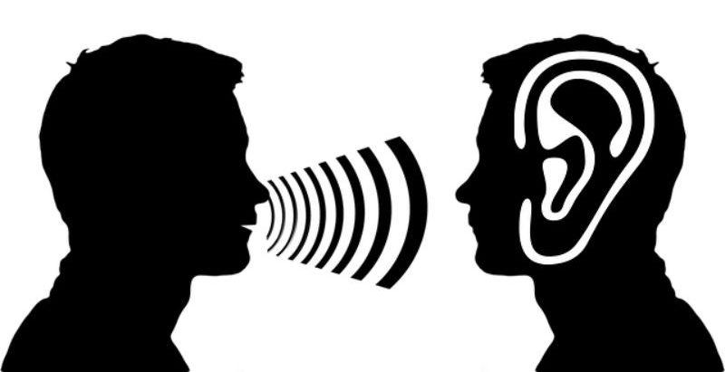 話す人と聞く人
