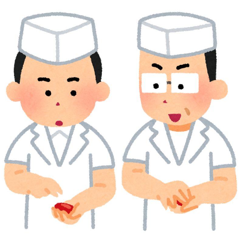 教える寿司職人
