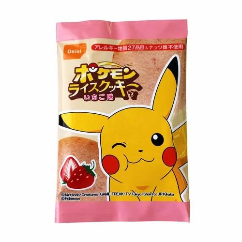 尾西食品 ポケモンライスクッキー いちご味