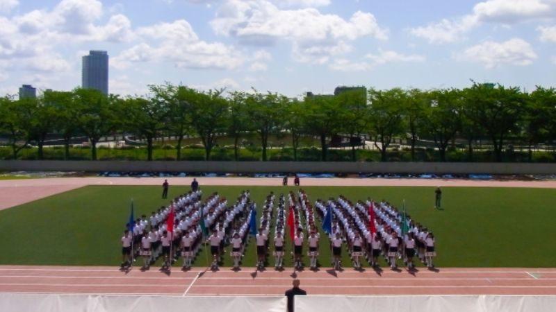 体育祭開会式