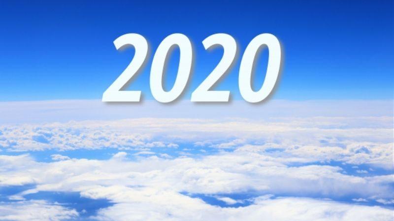 雲に浮かぶ2020